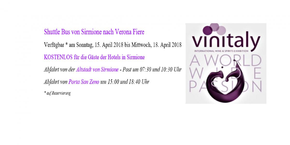 Vinitaly Angebot Hotel Suisse Sirmione